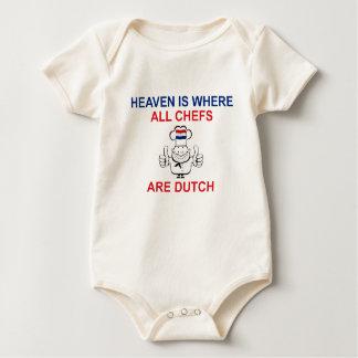 Dutch Chefs Baby Bodysuit