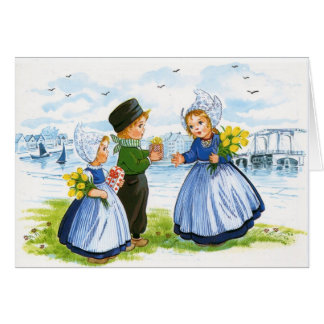 Dutch Children Card