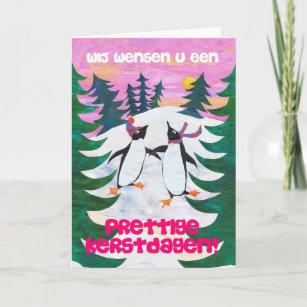 Christmas cards zazzle ca dutch christmas card skating penguins m4hsunfo