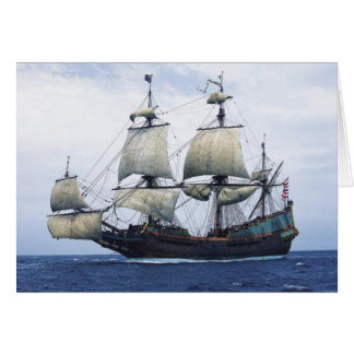Dutch East India Ship Card