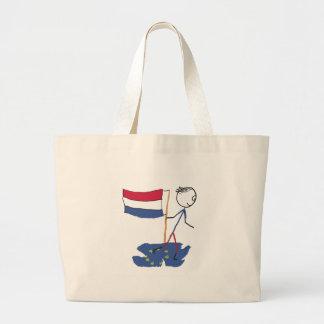 Dutch Exit Large Tote Bag