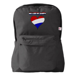 Dutch flag backpack