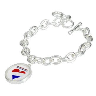 Dutch flag charm bracelet