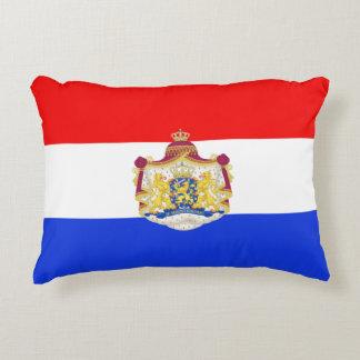 Dutch flag decorative pillow