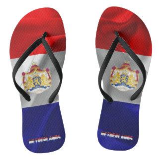Dutch flag flip flops