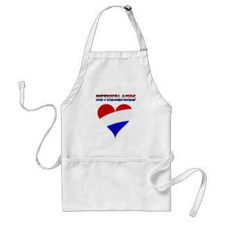Dutch flag standard apron