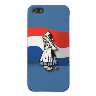Dutch Girl iPhone 5/5S Cases