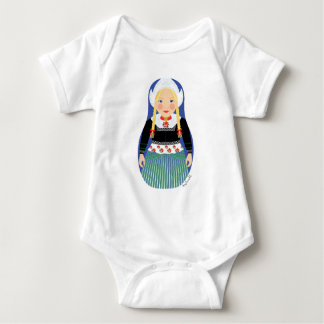 Dutch Girl Matryoshka Infant Creeper
