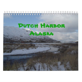 Dutch Harbor, Alaska 2012 Wall Calendar
