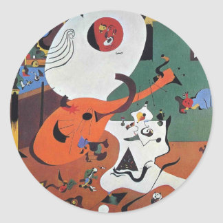 Dutch Interior Round Sticker