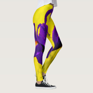 Dutch Iris Leggings