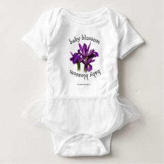 Dutch Iris Purple Sensation Baby Bodysuit
