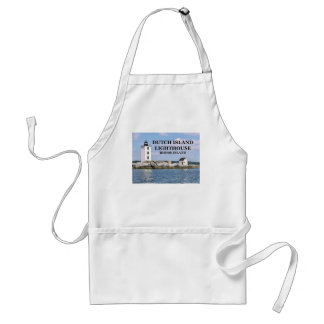 Dutch Island Lighthouse, Rhode Island Apron