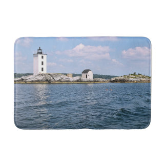Dutch Island Lighthouse, Rhode Island Bath Mat