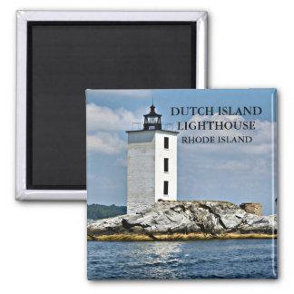Dutch Island Lighthouse, Rhode Island Magnet