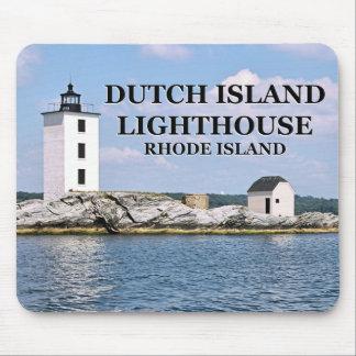 Dutch Island Lighthouse, Rhode Island Mousepad