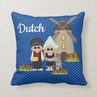 Dutch Kids of the World Holland Dot Pillow