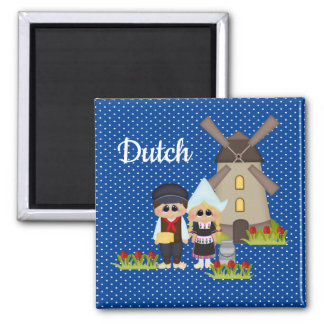 Dutch Kids of the World Holland Magnet