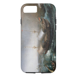 Dutch Merchant Vessels and a Smalschip Accompanied iPhone 7 Case