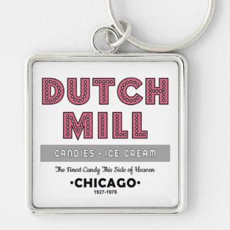 Dutch Mill Candy Company, Chicago, IL Keychain