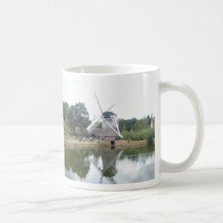 Dutch Mill Reflection Panoramic Coffee Mug