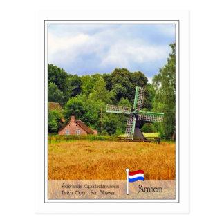 Dutch Open Air Museum Arnhem, Netherlands Postcard