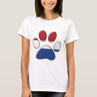 Dutch patriotic cat T-Shirt