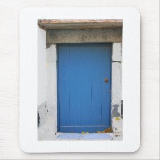 Dutch Photograph Blue Door Mouse Pad