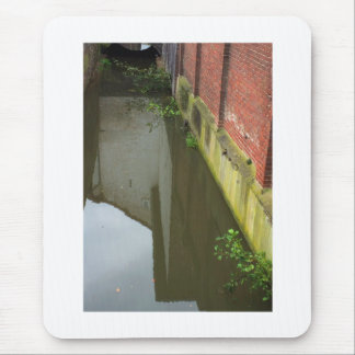 Dutch Photograph Canal Gracht Mouse Pad