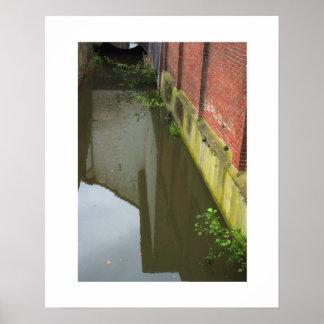 Dutch Photograph Canal Gracht Poster