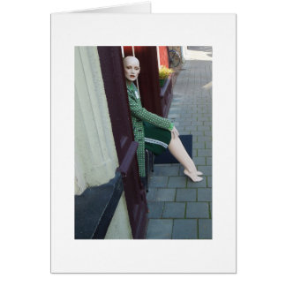 Dutch Photograph Door Mannequin Card