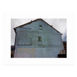 Dutch Photograph Gray Side of Building Postcard