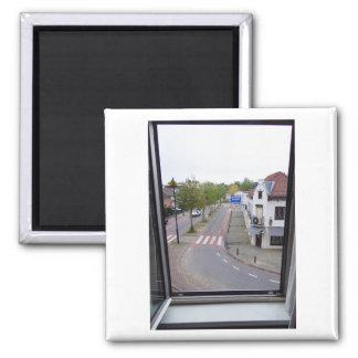Dutch Photograph Valkenburg Window Magnet