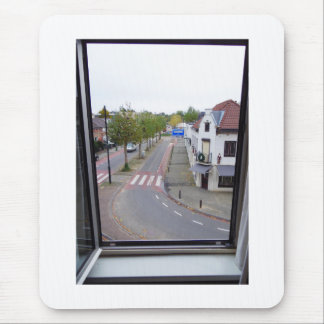 Dutch Photograph Valkenburg Window Mouse Pad