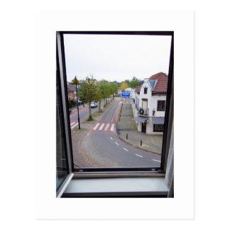 Dutch Photograph Valkenburg Window Postcard