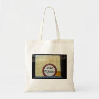 Dutch Photograph Window  Don't Block Exit Tote Bag