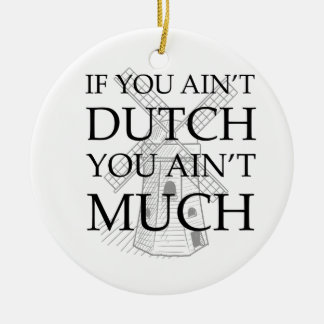Dutch Pride Gear Ceramic Ornament