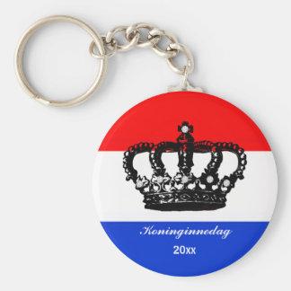 Dutch Queen's day (Koninginnedag) Keychains