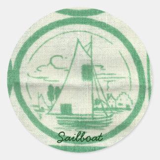 Dutch Sailboat Stickers