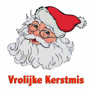 Dutch Santa Claus Photo Sculpture Ornament