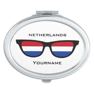 Dutch Shades custom pocket mirror Travel Mirrors