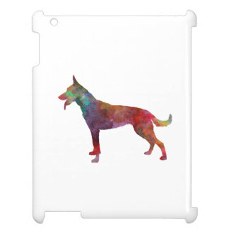 Dutch Shepherd Dog in watercolor Case For The iPad 2 3 4