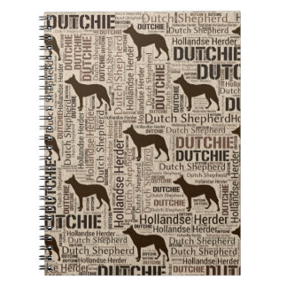 Dutch Shepherd - Hollandse Herder - Dutchie Notebook