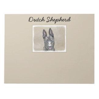 Dutch Shepherd Notepad