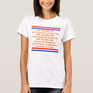Dutch Soccer Chant Hup Holland Hup T-Shirt