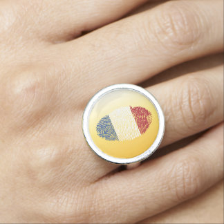 Dutch touch fingerprint flag photo rings