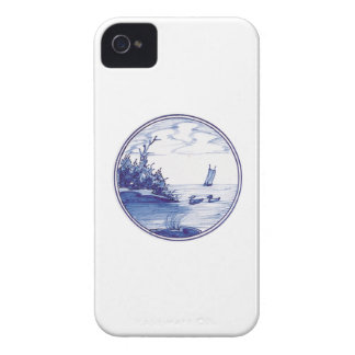 Dutch traditional blue tile Case-Mate iPhone 4 cases