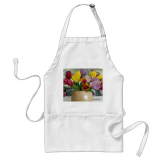 """Dutch Tulips Bouquet"" Aproon Standard Apron"