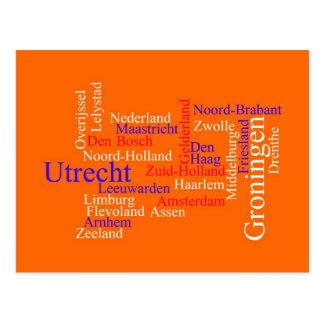 Dutch Typography Card