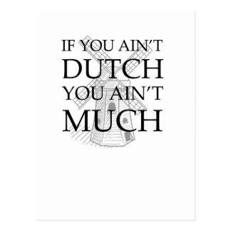 Dutch Wear to show off your Dutch pride Postcard